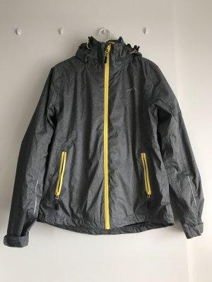 Crivit Outdoor Jacket grey-yellow