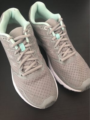 Crivit Lace-Up Sneaker light grey-turquoise