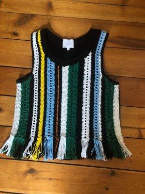 Lala Berlin Crochet Top multicolored