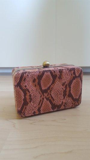 Croco Style Primark Klapptasche Umhängetasche Partytasche