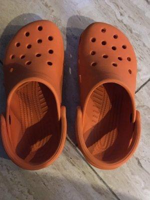 Crocs Bottes d'intérieur orange