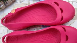 Crocs Slingback Ballerinas multicolored synthetic material