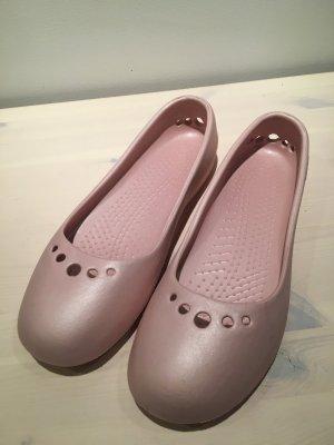 Crocs Ballerina, rosa, Gr. 41/42, US 10, ideale Badeschuhe, wie NEU