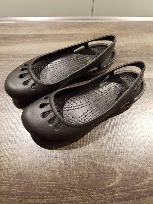 crocs Ballerina schwarz
