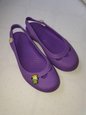 Crocs Strappy Ballerinas lilac