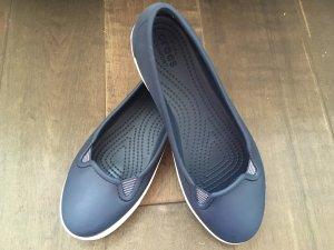Crocs Slip-on Shoes dark blue-white