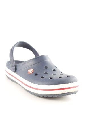 Crocs Clog Sandalen mehrfarbig Casual-Look