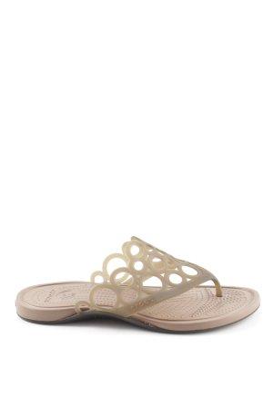 Crocs Flip-Flop Sandals brown casual look