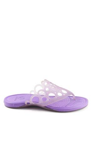 Crocs Flip-Flop Sandals lilac simple style
