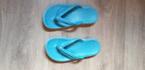 Crocs Flip-Flop Sandals light blue