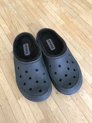 Crocs Scuffs black