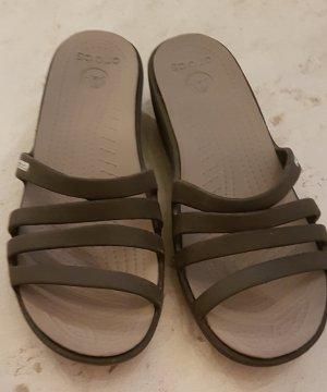 Crocs Heel Pantolettes anthracite