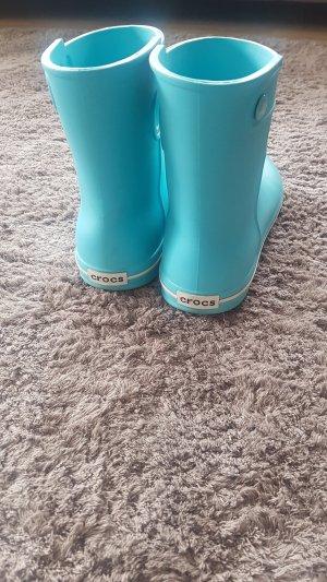 Crocs Botas de agua azul claro