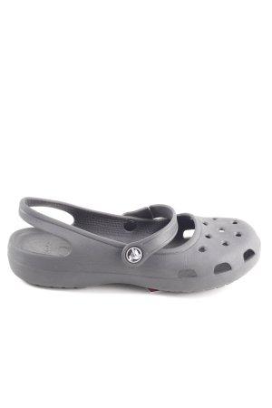 Crocs Comfort Sandals light grey casual look