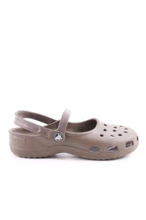 Crocs Komfort-Sandalen braun Casual-Look