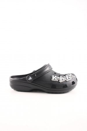 Crocs Scuffs black casual look
