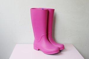 Crocs Regenstiefel Gummistiefel pink