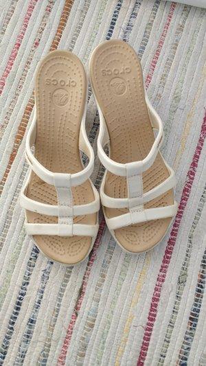 Crocs Clog Sandals white-natural white