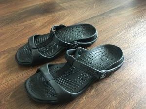 Crocs Sandalen schwarz