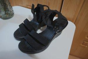 Crocs schwarz Sandale