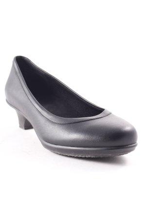 Crocs Loafers zwart casual uitstraling