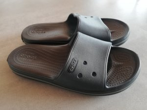 Crocs Beach Sandals dark blue synthetic material