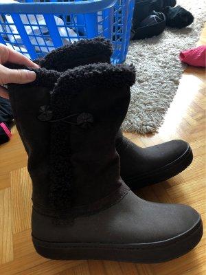 Crocs Winter Boots dark brown