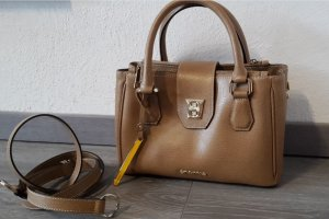 Cromia Handbag sand brown-gold-colored