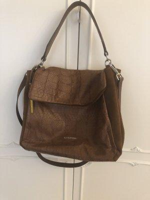 Cromia Tasche echtes Leder braun
