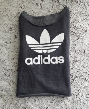 Adidas Cropped shirt antraciet