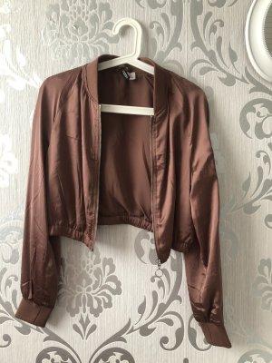 H&M Blouson aviateur or rose-bronze