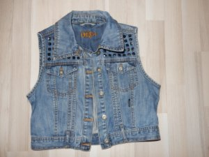 Only Denim Vest blue real gold