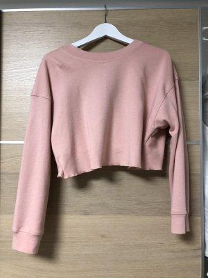 Zara Camicia cropped color oro rosa