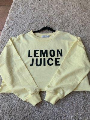 "Crop pulli ""lemon juice"""
