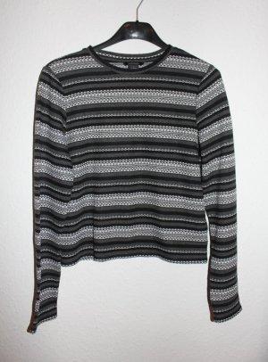 crop pullover dünner strickpulli shirt