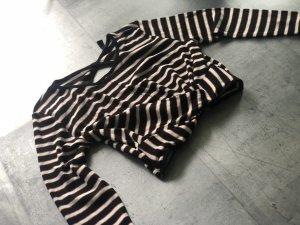 Crop Pullover mit Rückenausschnitt