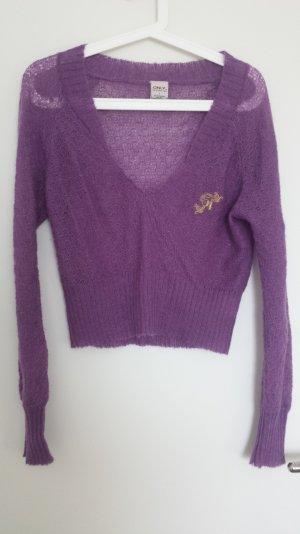 Crop Pullover von Only in Lila