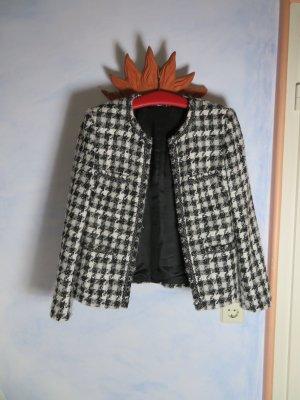 Vintage Chaqueta de lana multicolor Lana