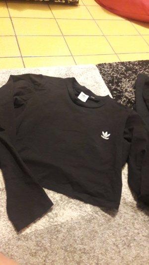 Adidas Camicia cropped nero