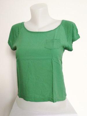 Crop Shirt aus Viskose (Gr. XS)