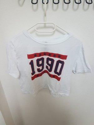 Crop Shirt Cropped T-Shirt 1990