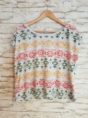 FB Sister Cropped Shirt multicolored