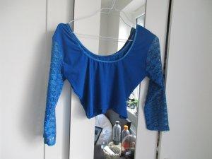 T-shirt court bleu
