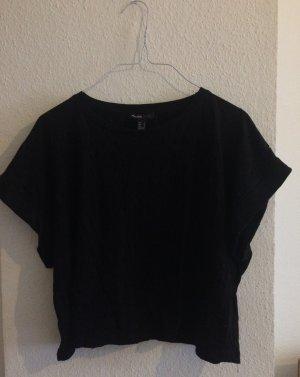 Crop Shirt mit Muster