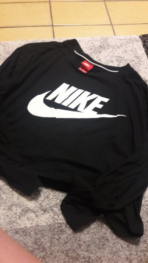 Nike Cropped Shirt black