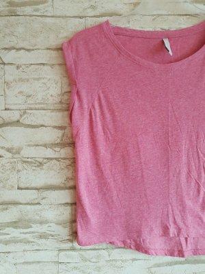 Fishbone Cropped Shirt pink-pink