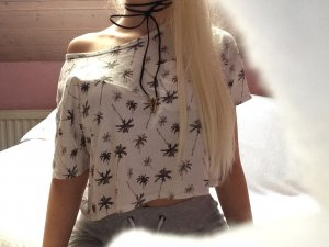 Crop T-shirt in XS von Hollister