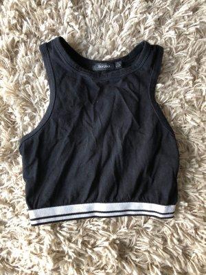 Sheinside T-shirt court noir