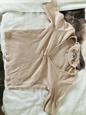 Stradivarius Cropped Top rose-gold-coloured-pink