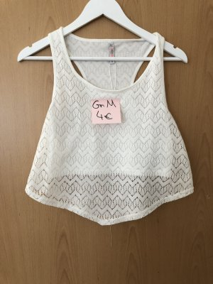 Tally Weijl Crop-top blanc